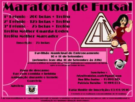 Maratona de Futsal Feminino - Set. 2010